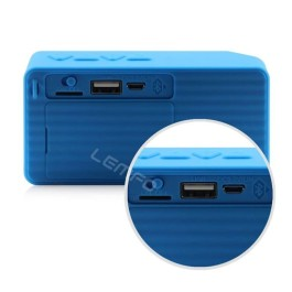 DGB Monk X3 Portable Bluetooth Speakers (Blue)