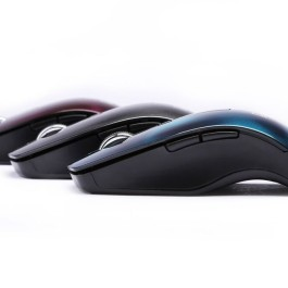 DGB Curve 3D Wireless Optical Mouse (Purple)
