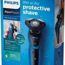 Philips S5050/06 Shaver For Men  (Black and Blue)